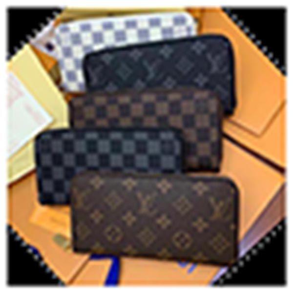 Lvlouisbag Vitton cremallera con cremallera mujer monedero largo billetera moda dama embrague hombres bolsa de hombro bolsos de las señoras