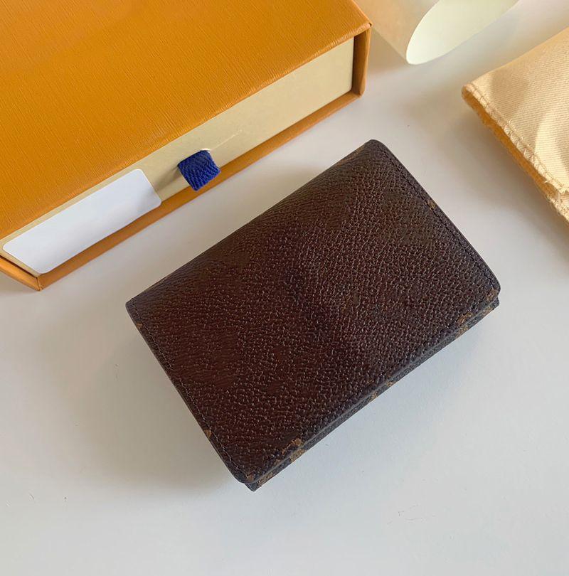 enjesspe carte de visite حقيبة multicartes مصمم بطاقة الائتمان حامل تذكرة حالة الفاخرة الجيب المنظم محفظة هدية 062306