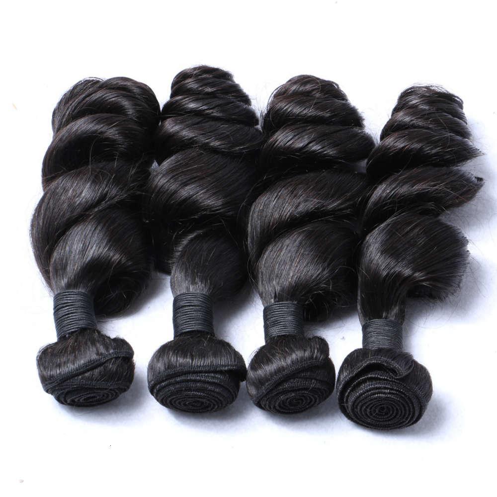Echthaar Haarvorhang Mode Haarverlängerung