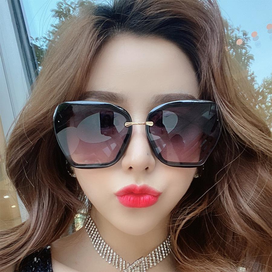 el aire libre gran marco neta rojo vibratoutdoutdoutsorios mismas gafas de sol 6048 versión coreana tiktok moda calle sombreado ma59
