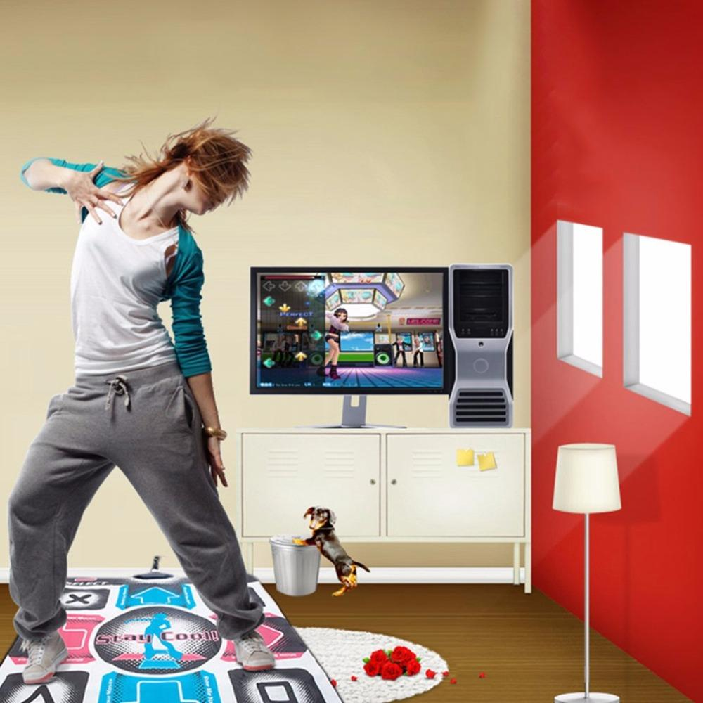 Dance Mat Dancing Step Dances Pad Dancer Blanket Equipment Revolution HD Non-Slip Foot Print Mats To PC with USB