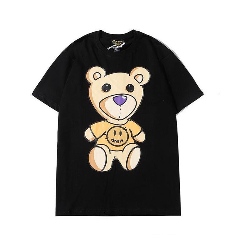 Homens Mulheres Camiseta T-shirt ocasional do verão Forme casais de manga curta camisetas