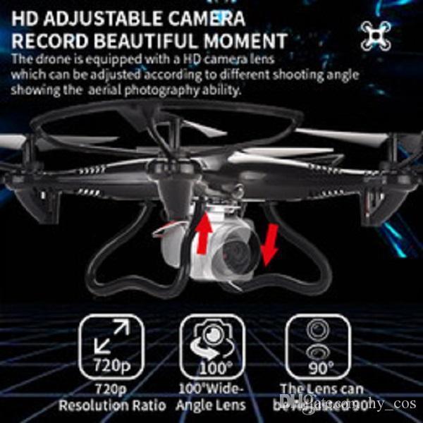 Juguete para niños Drone de cuatro ejes Avión controlado remoto para niños Electric Toy Niy Regalo 04