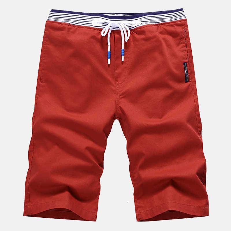 Шорты модные мужчины повседневная катона на коленях Homme M-4XL AYG265
