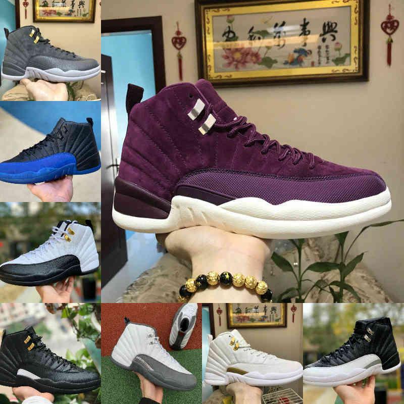 مبيعات 2021 جديد 12 ثانية فصل الشتاء wntr رياضة أحمر ميشيغان الرجال كرة السلة أحذية رئيس أنفلونزا تاكسي 12 الرجال الرياضة رياضة مصمم المدربين أحذية R18