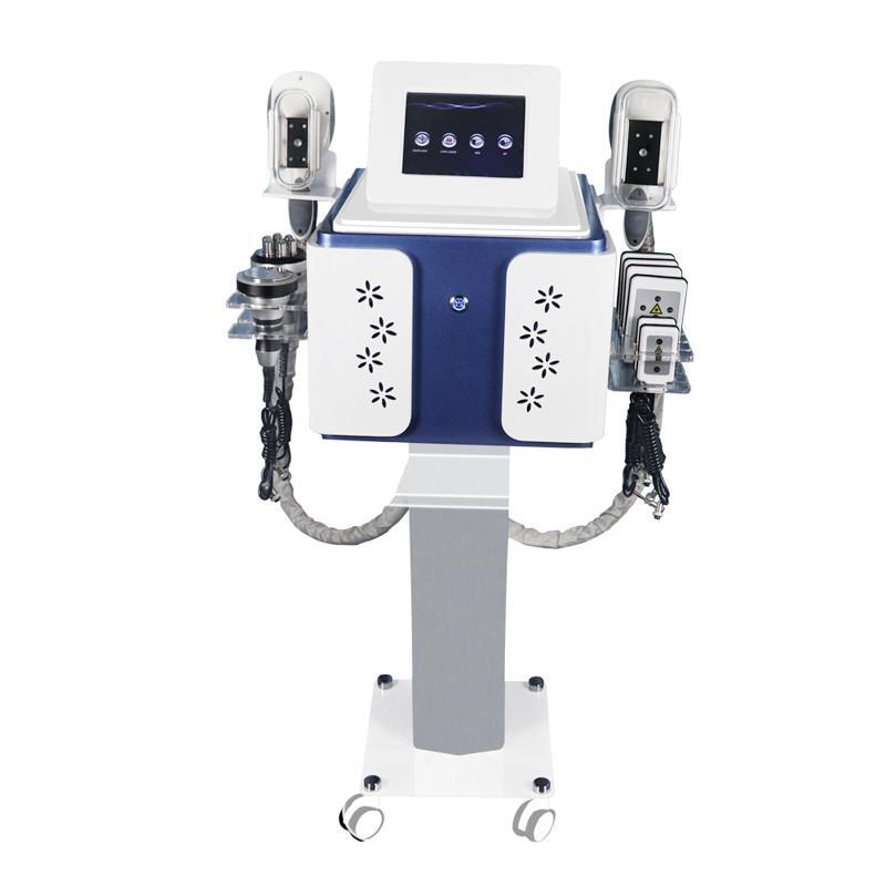 FDA-genehmigter Cryolipolyse-Körper Abnehmen Fettgefrierte Maschine coole Forming Vakuum-Liposuktion Ultraschallkavitation HF-Lipo-Lasergeräte # 14