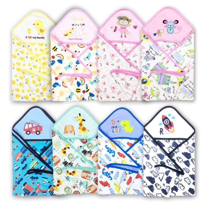 La dernière couverture de 75x75cm, enveloppe de tissu de courtepointe bébé, tandon, de nombreux styles à choisir, personnalisation de support