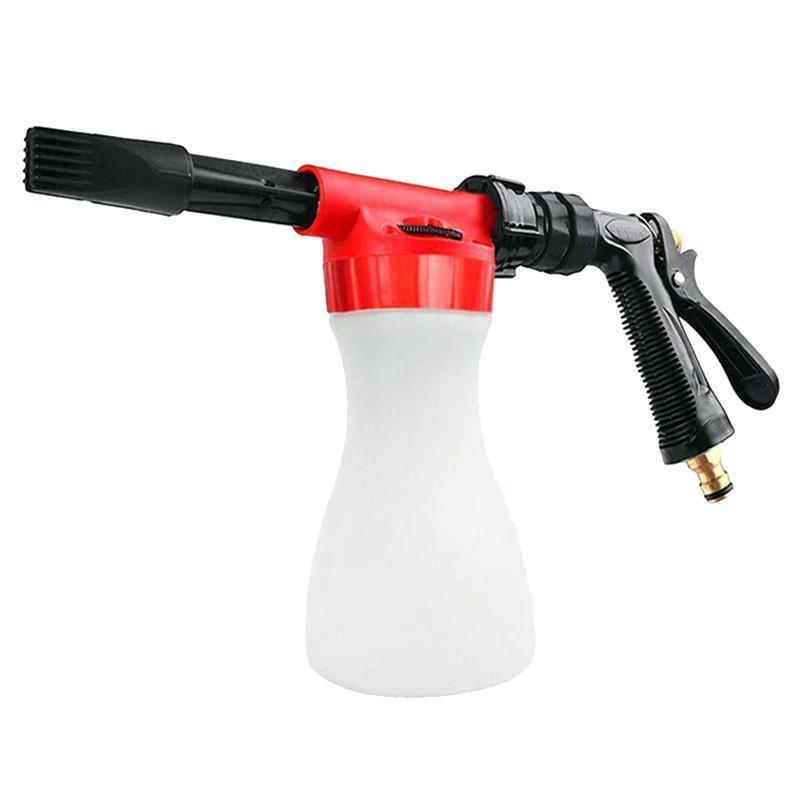-800ml Lavado de coches Espuma Limpiador de alta presión Limpieza de la nieve Fabricación de espuma de espuma de agua Lavadora de jabón de agua