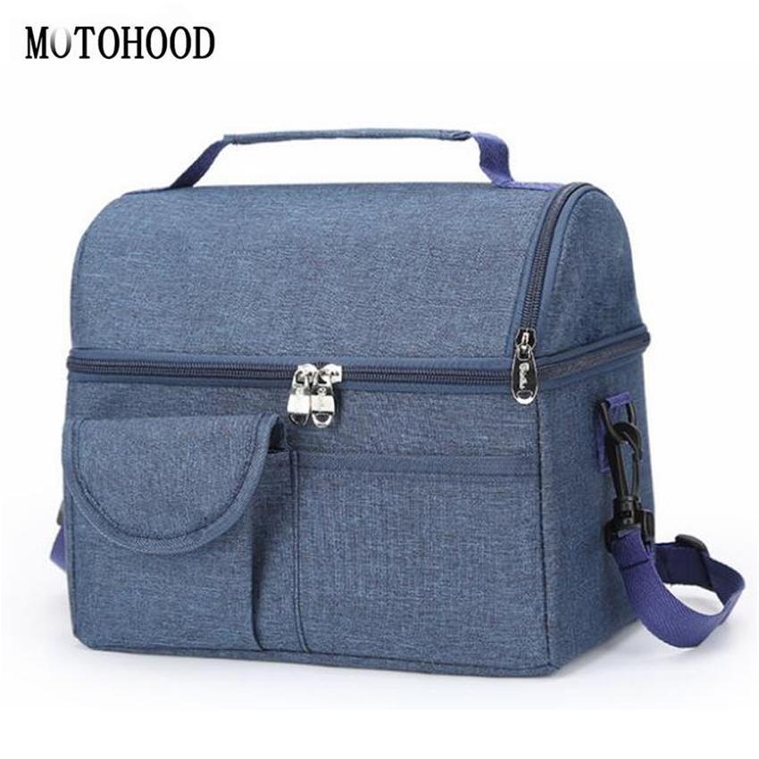 Motoood Baby Diaper Bag per mamma Mummy Madre Maternity Bags Bags Bags Isolamento termico Borsa da passeggio Isolamento Latte Colore isolamento Sacchetto 210326