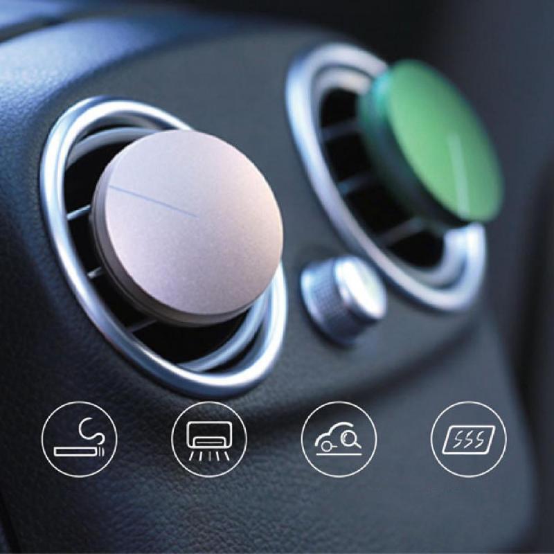 Auto Bleadeless Fan Typ Magnets Diffusor Matte Textur Stabile Luftluftauffrischer für Auto-Innen-Zubehör F