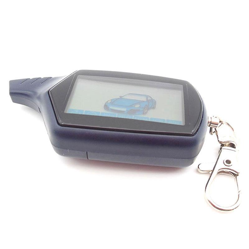 Keychain B9-Auto-Fernbedienung für Starline-LCD-Zwei-Wege-Alarmsystem / FM-Sender Anti-Lost