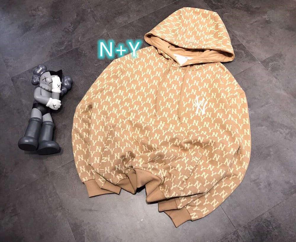 Hohe Qualität 1: 1 Hoodie Mode Marke n + y2020 Herbststil Inka Fleece warmer mit Kapuze bestickter linker und rechts versteckter Taschenpullover