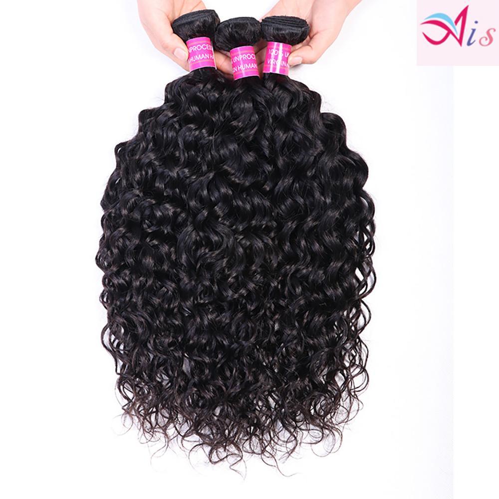 Wholesale Virgin Hair Human Hair Weave Bundles Straight Water Deep Loose Wave Curly 4 Bundles Indian For Weaves Extensions
