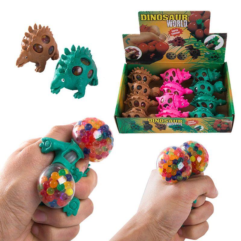 Squishy Dinossauro Fidget Brinquedo Anti Stress Grape Ball Squeeze Brinquedos Descompression Ansiedade Reliever Bolas de Ventilação