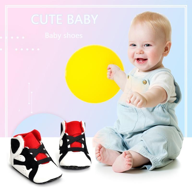 طفل أحذية رياضية أزياء مرونة الشريط بلون مغاير خياطة مولود أول ووكر عارضة طفل 0-18 أشهر مشوا