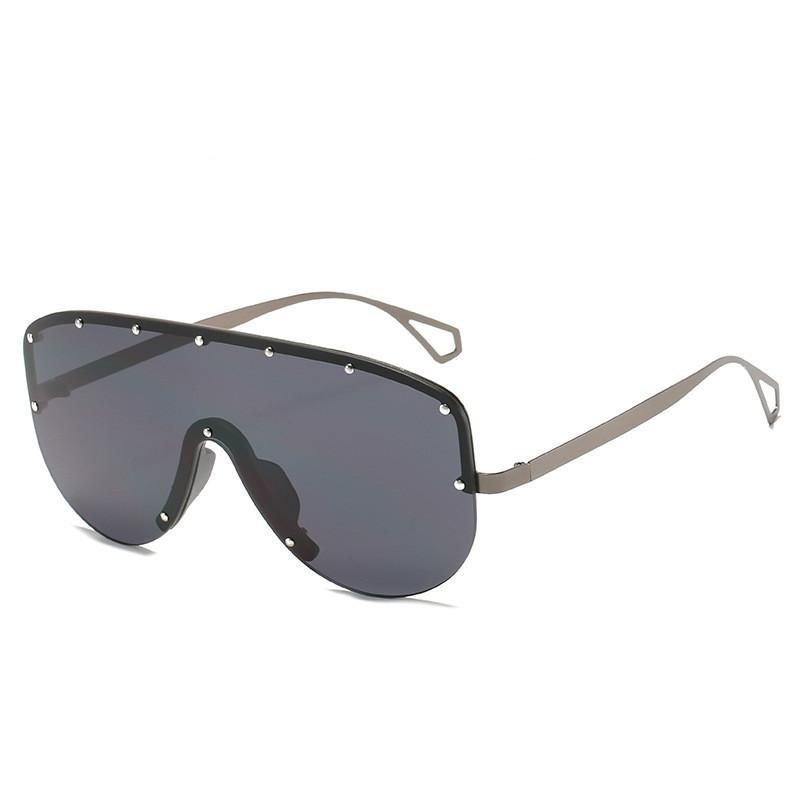 Nuevo estilo Gafas de sol Rina Ladies Gafas de sol Luxury Brand Designer Gafas Piloto Gafas de sol Gafas de gran tamaño LUNETE FEMME