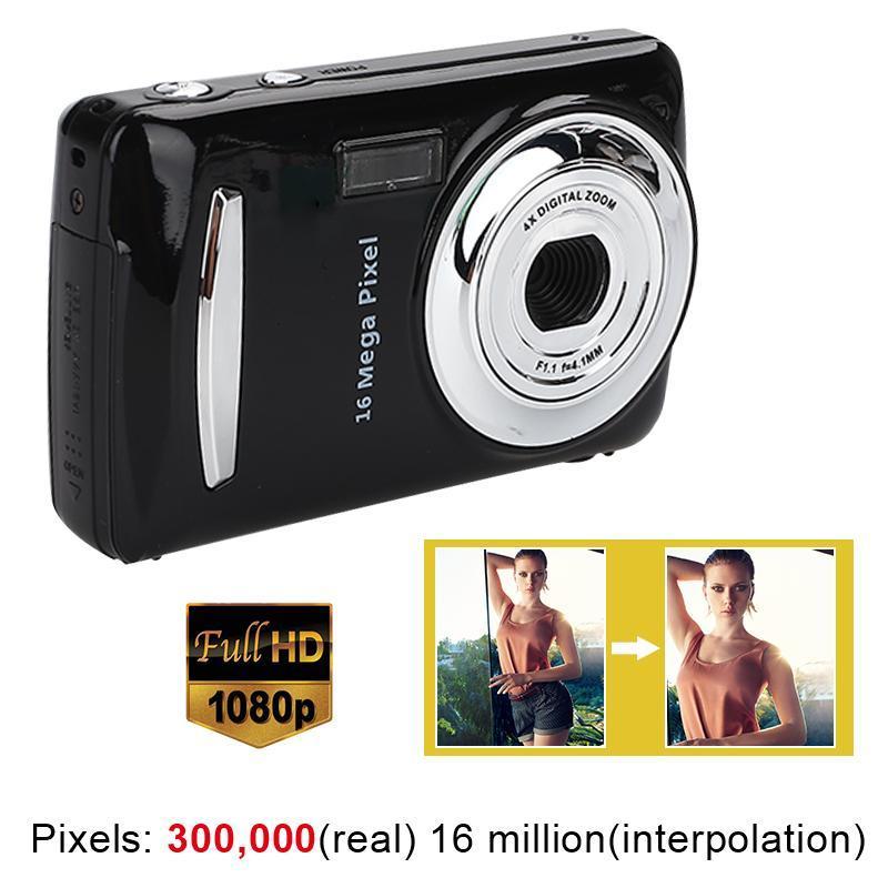 Digital Cameras Ultra Po Camera 16MP Ultra-clear HD DVR 1080P Mini Precise Video Recorder Black