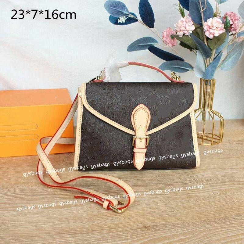 2021 المرأة الفاخرة حقائب محافظ صغيرة مصممين crossbody حقائب الكتف الأزياء ممرضة رسول حقيبة حقائب المطبوعة الزهور L21070601