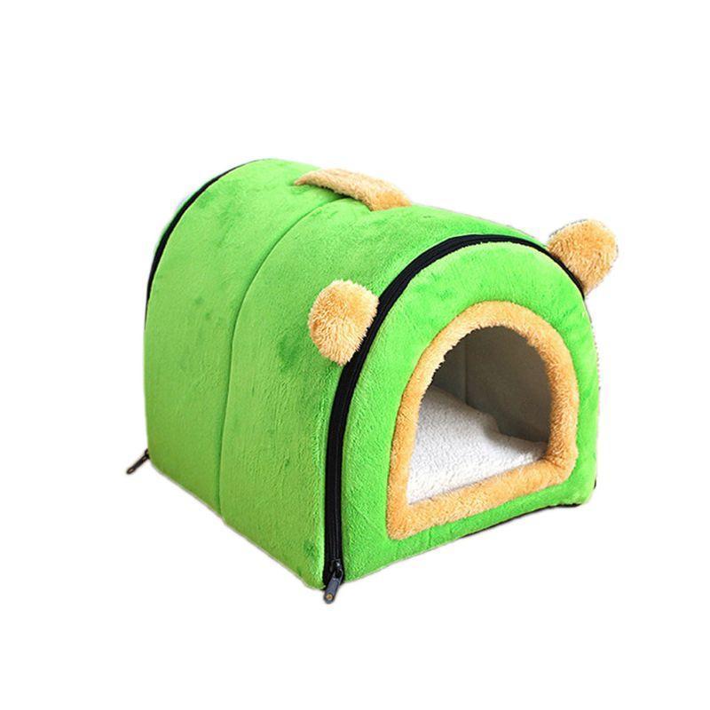 Auto-calentamiento 2 en 1 Cómoda plegable Cómoda Casa de gato Casa de perro Removible W0YC Muebles