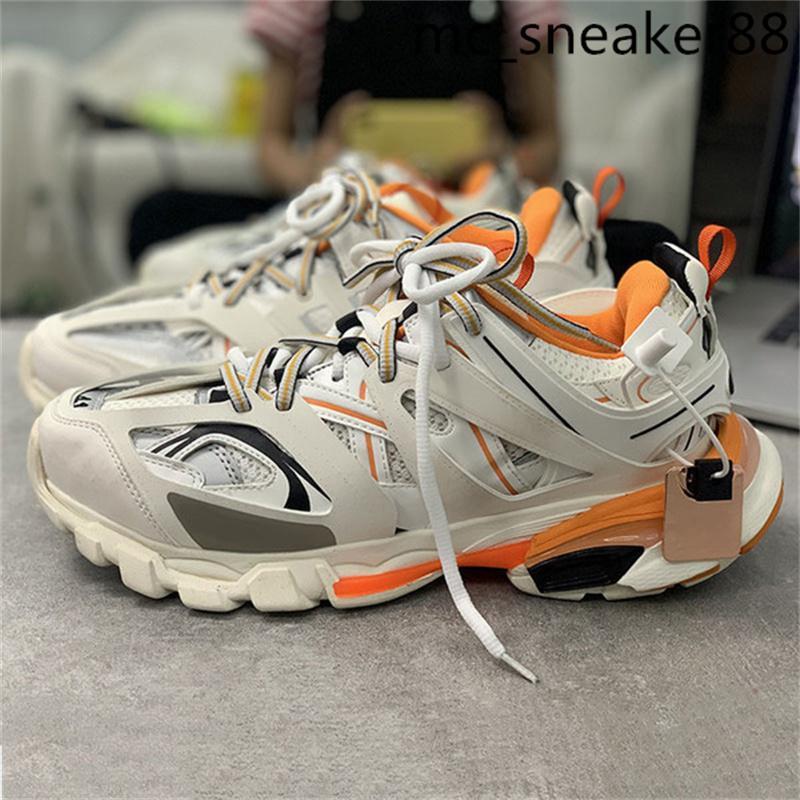 Release 3.0 TESS S Casual Schuhe Paris Track Männer Gomma Maille Schwarz Für Frauen Triple Clunky Sneaker Hot Fashion Dad Shos 36-45
