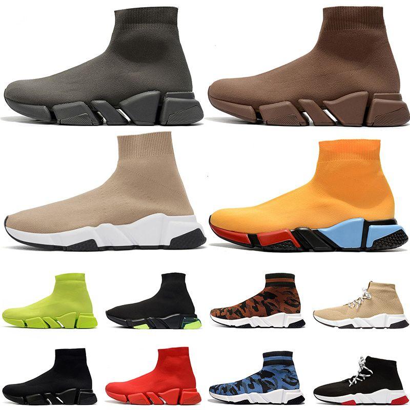 2020 sock shoes tasarımcı çorap spor ayakkabı hız lüks bayan erkek rahat ayakkabılar tripler étoile vintage sneakers çorap çizmeler platformu eğitmenler