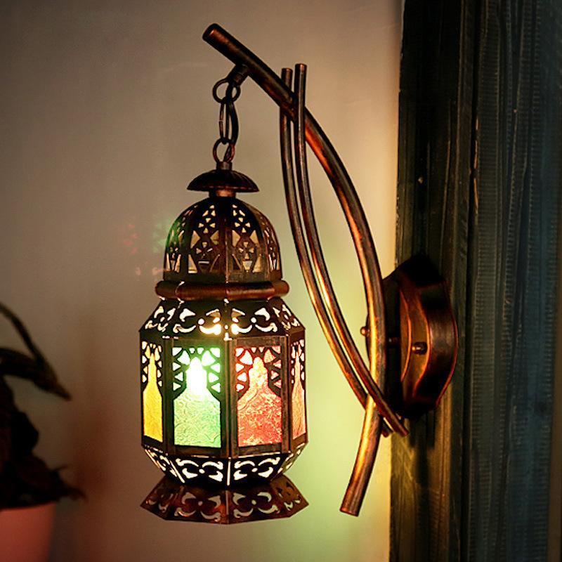Bohemian Wall Lamp Turkish Restaurant Cafe Inn House Color Corridor Manufacturer