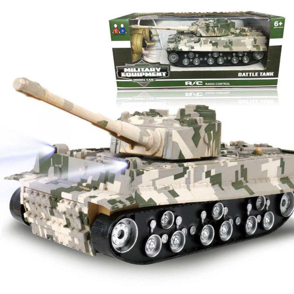 Elektrische / rc carwireless Electric Tank 4-Wege-Aufladung Fernbedienung Kinder Simulation Modell Story Spielzeugauto