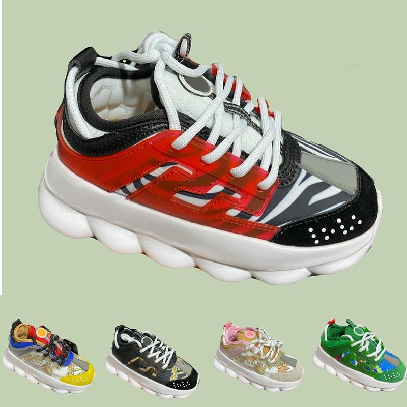 Corte Baixo Running Shoes Crianças Menino Menina Juventude Skateboarding Sports Skate Sneaker Tamanho Euro26-35