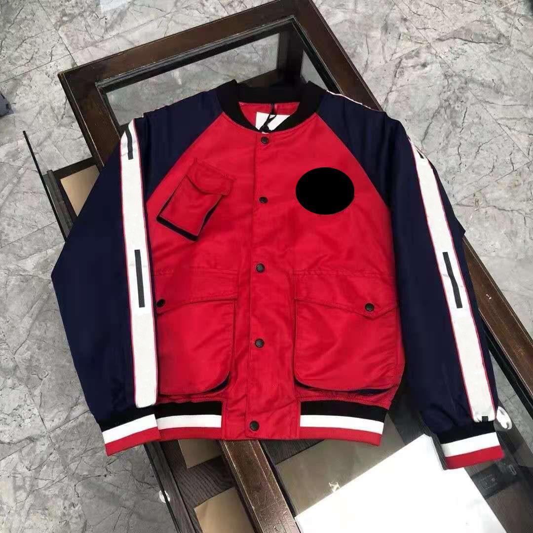 【Code:OCTEU06】Designer Monclair Mens Jacken Kleidung Frankreich Marke Bomber Baseball Uniform Jacke Männer S Oberbekleidung Mantel Mode Hombre Casual Street Coats 001