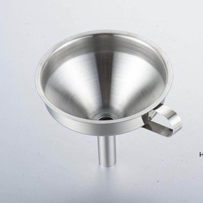 Outils de cuisine Enconnaissement de miel à huile en acier inoxydable fonctionnel avec filtre à la passoire pour parfum liquide Outil DHA5135