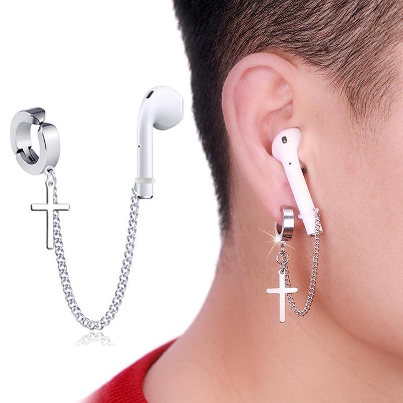 AirPods Pro Anti-Loble Hear Clip Clins Bluetooth Наушники для наушников Держатель Аксессуары Унисекс Серьги анти-осень