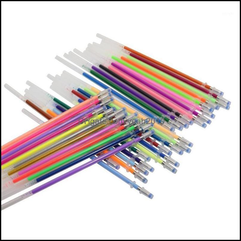 جل الكتابة اللوازم مكتب المدرسة الصناعية الأقلام 36 قطعة القلم الغيام الفلورسنت لون خرطوشة اللون فلاش صديق بيئيا