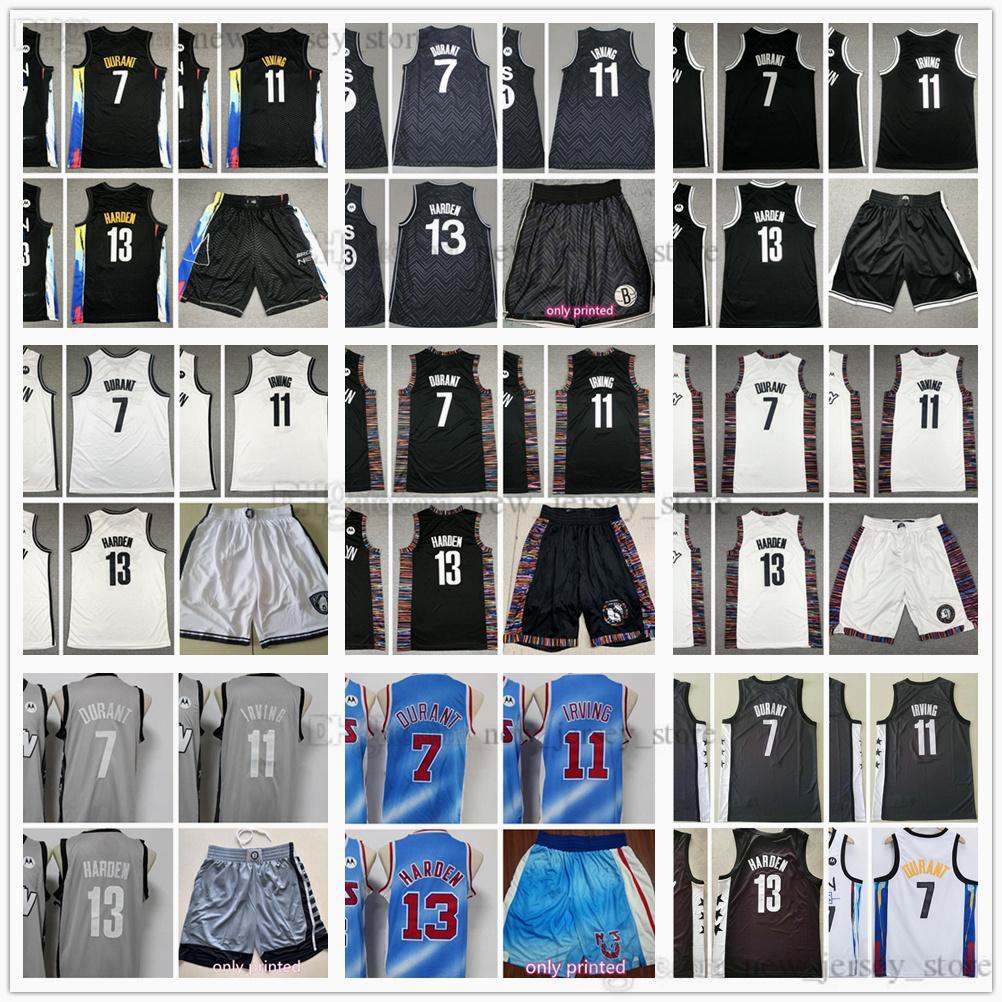 2021 2022 Jerseys de baloncesto cosido Noticias Top Calidad Ciudad Azul Blanco Negro Gris Jersey Size S-XXL