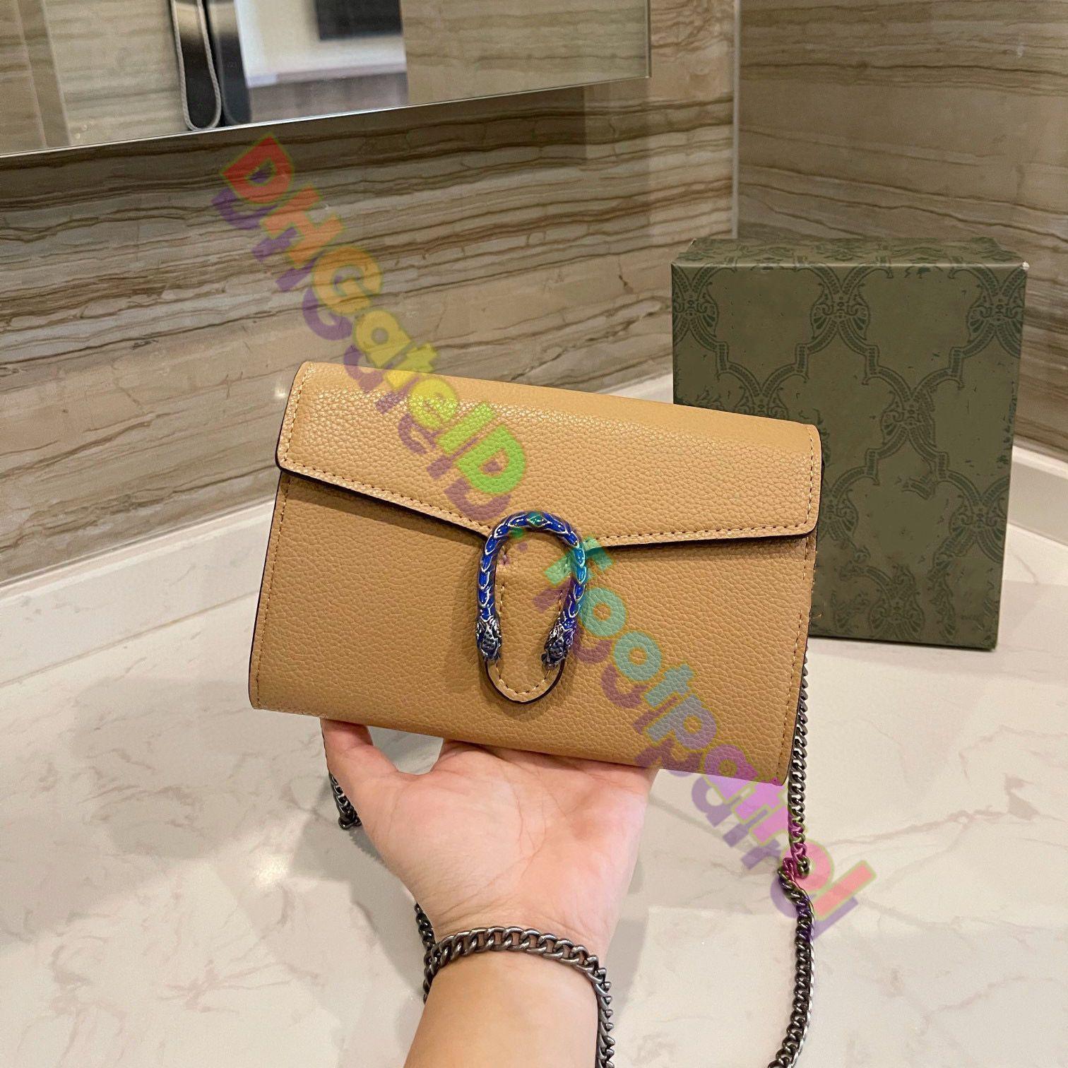 2021 Fashion Luxurys Designer Designer Messenger Bags Vintage Crossbody Bag Classic Donne Top Quality Spalla a ferro di cavallo a ferro di cavallo Stampa Borsa in pelle Borsa Portafoglio