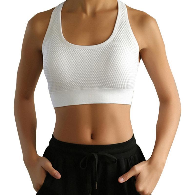 Spor Giyim Push Up Spor Sutyen Yüksek Darbeli Koşu Yastıklı Kadınlar Kesintisiz Sutyen Spor Yoga Fitness Egzersiz Aktif Aşınma (M)