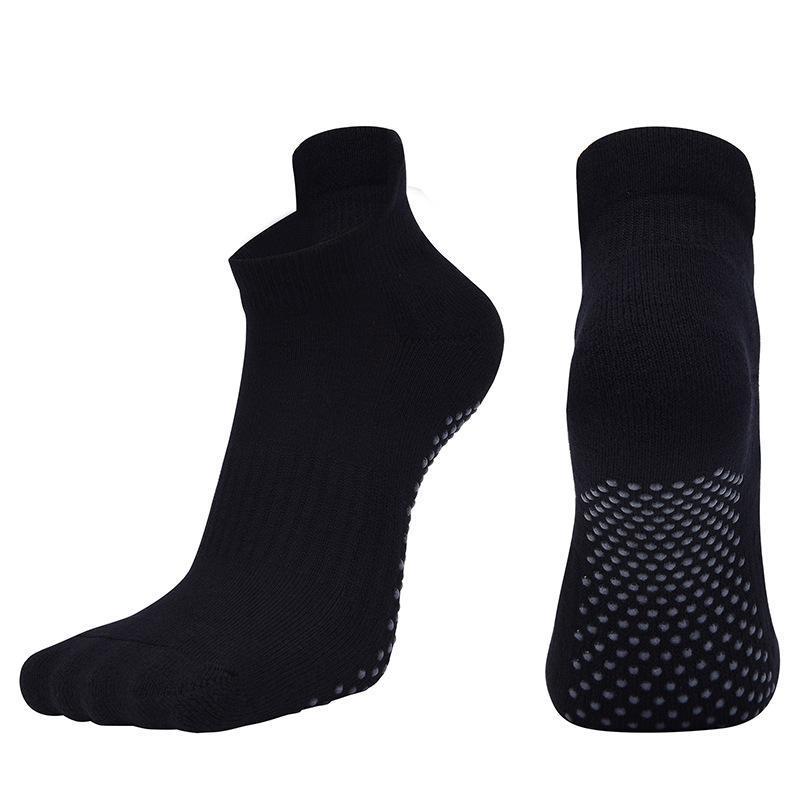 Sports Socken plus Größe 39-43 Männer Frauen Yoga volle Runde Handt Tanzen Rutschfeste Gym Fitness Damen Pilates SKD004