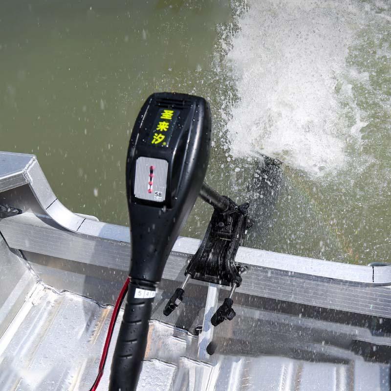 Barco elétrico do motor do motor de 12V / 24V / 48V / 60V motor de motor de motor / barcos infláveis
