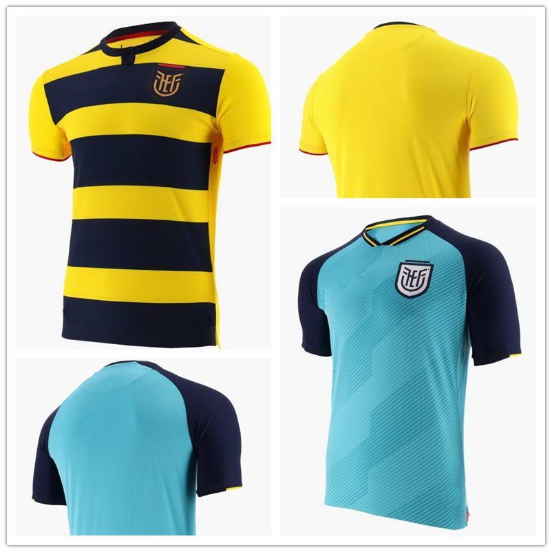 Equador 2021 Tailandesa Qualidade Futebol Jerseys Personalidade Home Ywlow Loja Online Local Yakuda Training Dropshipping Aceitou Melhor Desgaste de Futebol Esportes