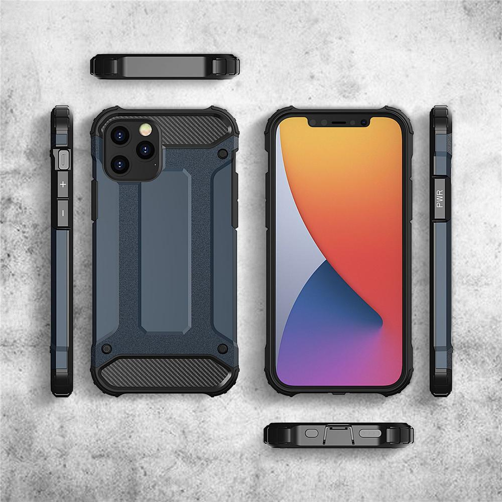 For iPhone11 XR XS Max 8 7 Shockproof Hybrid Armor Phone Case For iPhone 12 Hard PC TPU 2 in 1 Full Cover