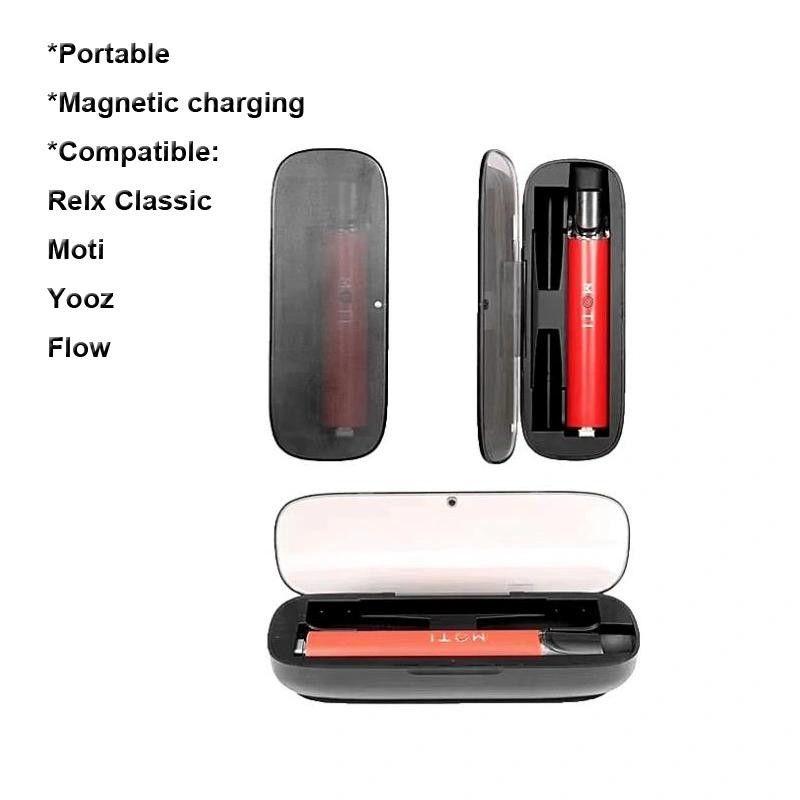 TPYE-C Manyetik Şarj Elektronik Sigara Şarj Kutusu Relx Klasik MOTI YOOZ Akış Şarj Edilebilir Vape Kalem