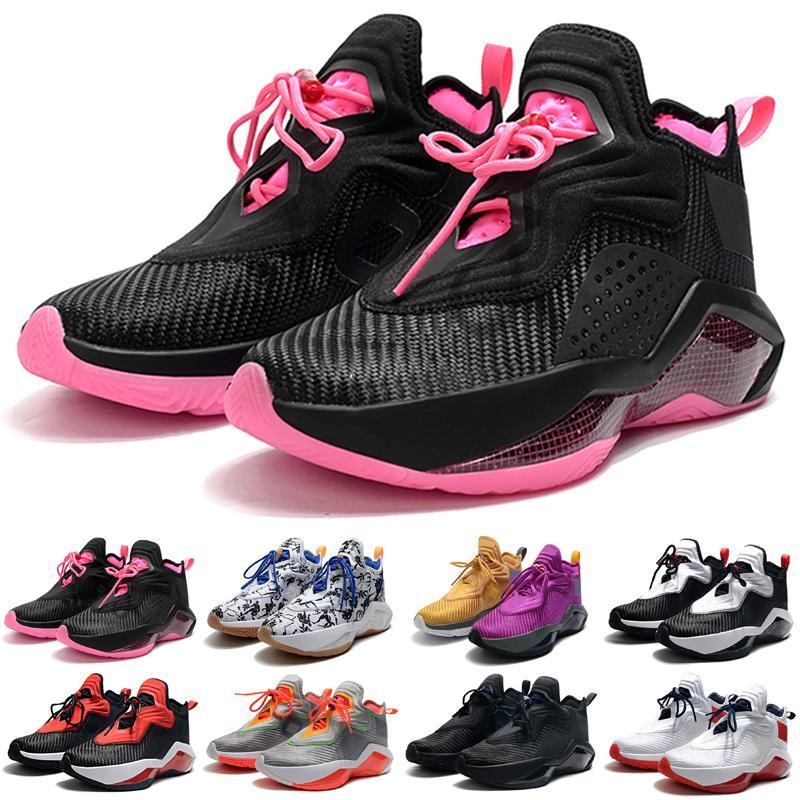 Mens Asker 14 XIV Açık Ayakkabı Satılık Tenis Spor Sneakers Siyah Beyaz Kırmızı Gri Pembe Lakers 14s