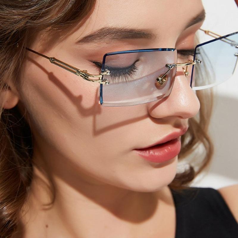 Mujeres cuadradas Sunmer Gafas de sol Moda de moda diseñador de solles gafas de sol para viajar 31274