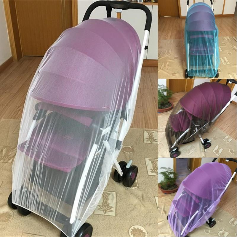 Baby Stroller Pushchair Mosquito Insect Shield Net Safe Infants Protection Mesh Stroller Accessories Mosquito Net 150cm 869 X2