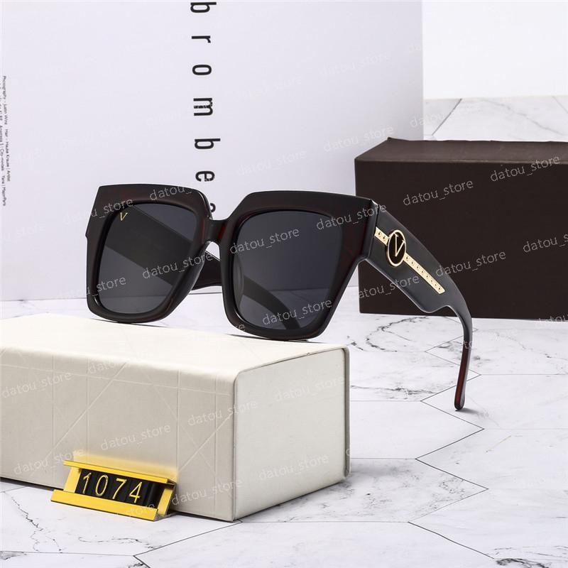 الرجال مصمم النظارات الشمسية للنساء أزياء نظارات الشمس في الهواء الطلق عطلة الصيف نظارات المرأة الزجاج الفاخرة مع مربع الاستقطاب