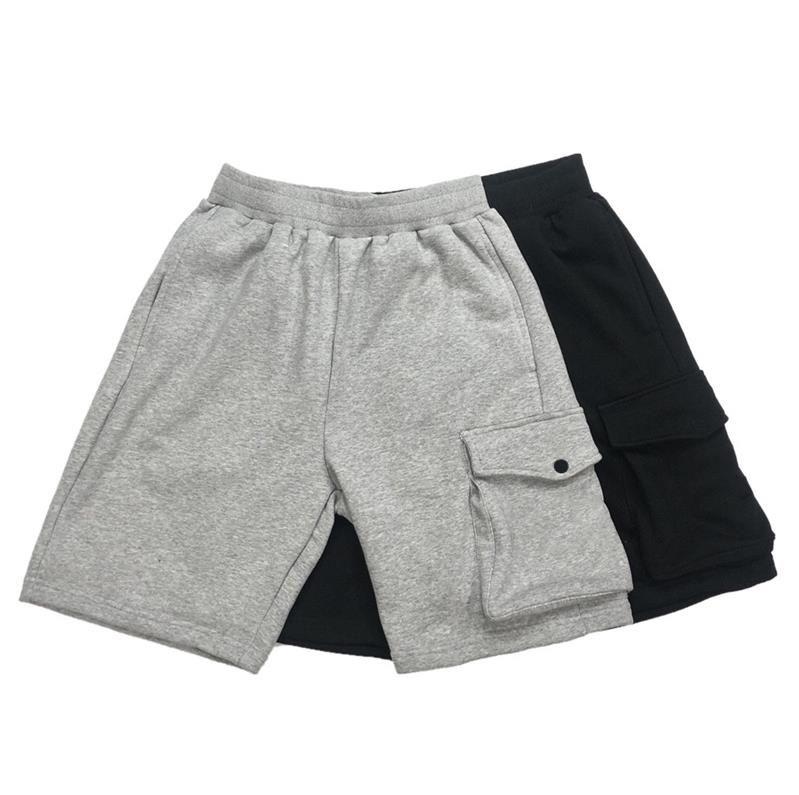 Summer Men Shorts Pantalones Joggers Pantalones Masculinos Hombre Sólido Negro Cotton M-3XL # SK005 Free Ship Fashion K005 Artículo