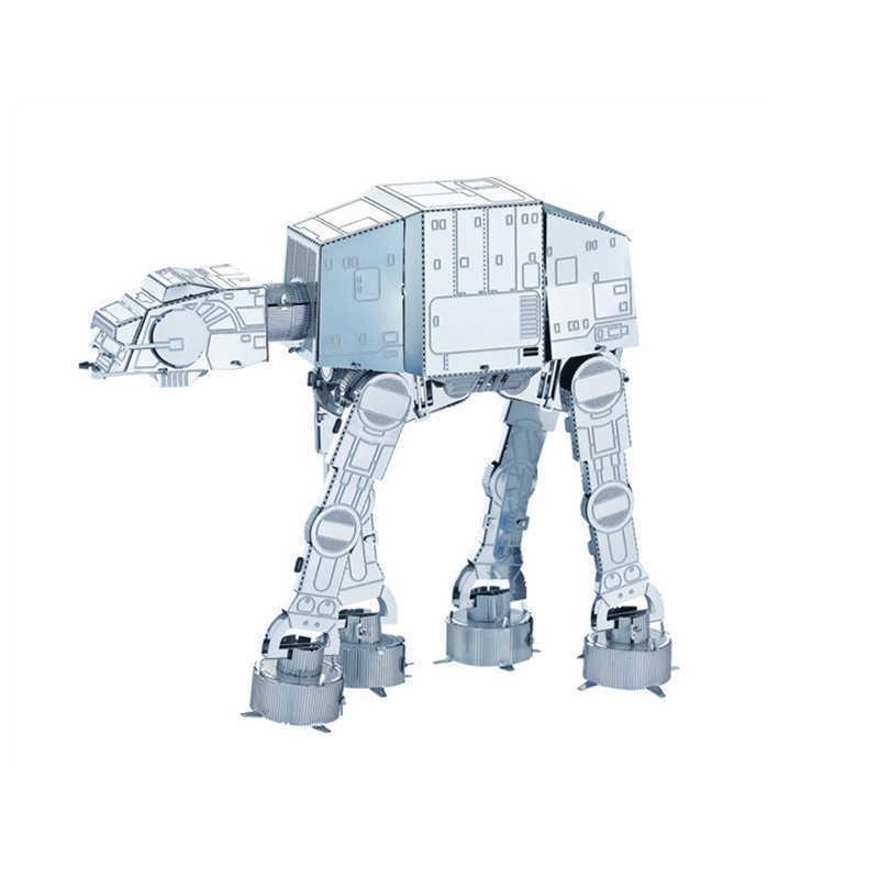 Bulmacalar 3D Metal Bulmaca Titanyum Fighter DIY Meclisi Robot Çocuk Oyuncak İmparatorluğu Walker Bulmaca