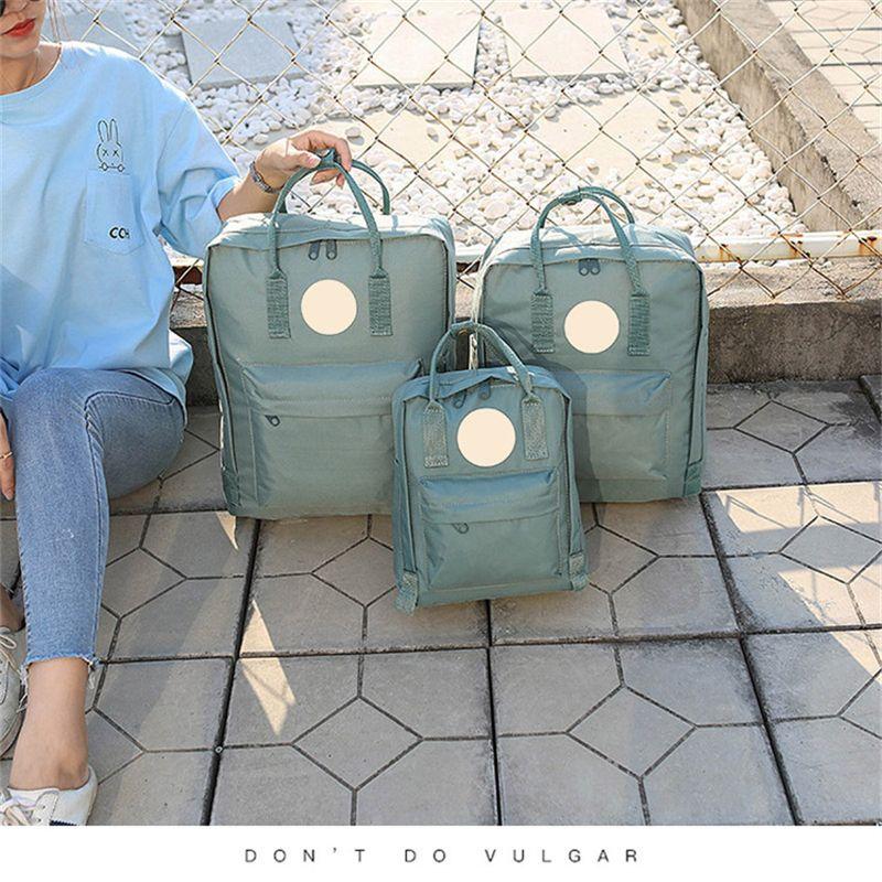 35 색 스웨덴어 클래식 가방 캔버스 배낭 아이들과 여성 패션 스타일 디자인 가방 방수 배낭 스포츠 7L / 16L / 20L