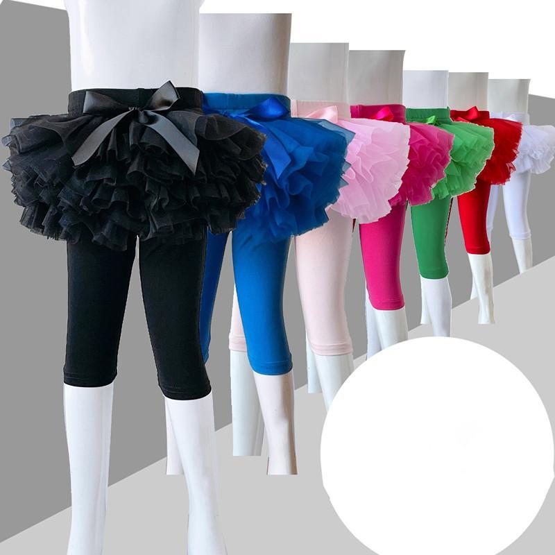 طفلة تنورة القوس مع الجوارب الأطفال للرقص البطن الأميرة توتو منتفخ طماق اللباس مرحلة الأداء حزب الشاش