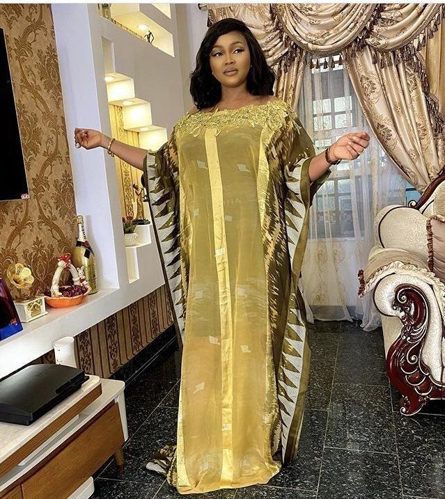 Vêtements ethniques 2pcs Sets African Dashiki Dentelle Robe de mousseline Maxi Abaya Bazin Bazin Brasin Brasin Riche longue Robe Robe Sexy Dame Soirée Parti