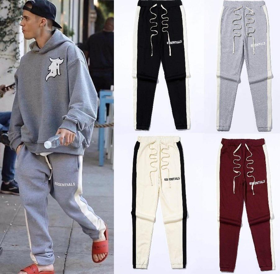 HOP Ins Kalça Pantolon Sis Çift Çizgi Essentials